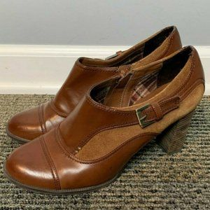 Etienne Aigner Shoes Size 10 M Brown Leather
